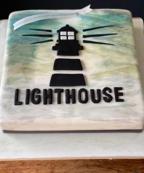 Photo: Lighthouse cake